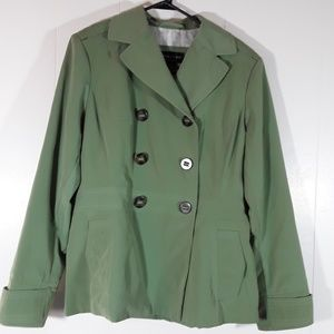 Braeton Trench coat size large 14/16